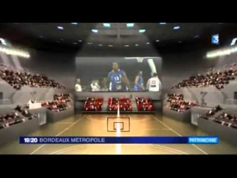 Rénovation du Palais des Sports de Bordeaux