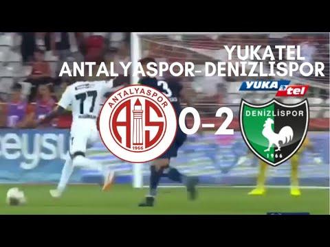 Antalyaspor 0-2 Denizlispor, Kaçan Penaltı ve Goller