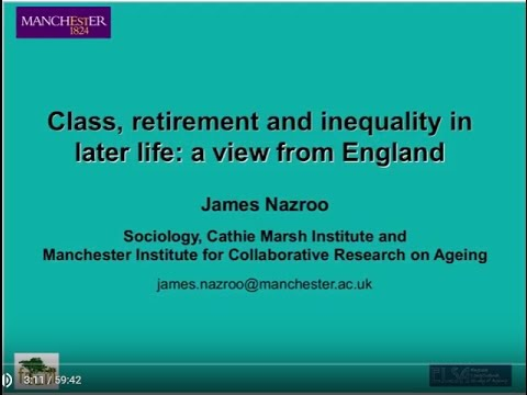 Class, retirement, and inequality in later life: Findings from ELSA
