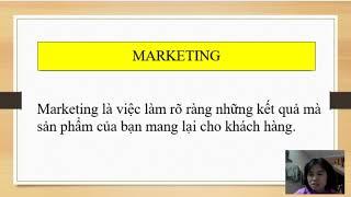 Nghiên cứu thị trường và sản phẩm