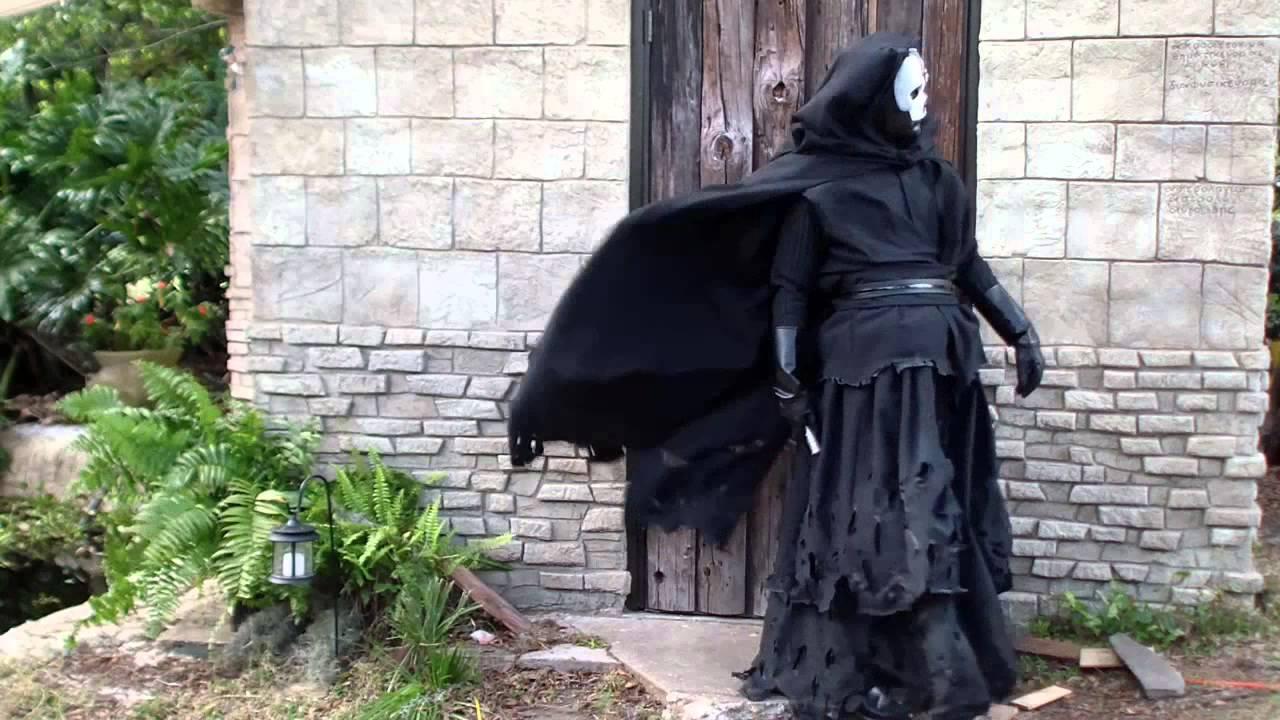 darth nihilus costume tattered cotf version youtube