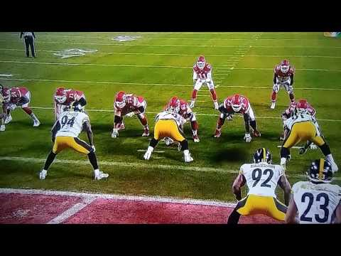 Kansas City Chiefs vs Pittsburgh Steelers Final 5 Minutes NFL Playoffs 2017