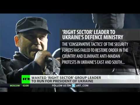 Radical Right Sector leader announces bid for Ukrainian presidency
