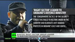 Radical Right Sector leader announces bid for Ukrainian presidency