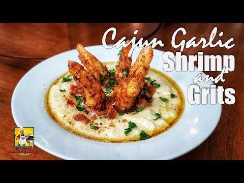 Cajun Garlic Shrimp and Grits | Cajun Shrimp and Grits