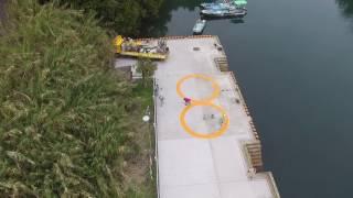 DJI Fhantom 3 Standard 鹿児島県鹿児島市黒神町、避難港の風景です。 映像に写る建物は、今は営業していない温泉だったそうです。 ◎よろしけれ...