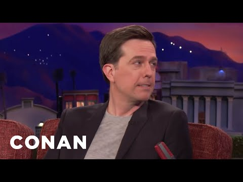 Ed Helms Auditions To Be The Voice Of Tesla  - CONAN on TBS