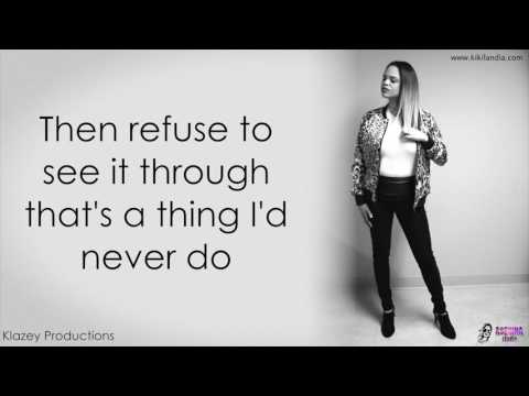 KIKI LA ASESINA - THERE ARE WORSE THINGS I COULD DO (merengue cover lyric video)