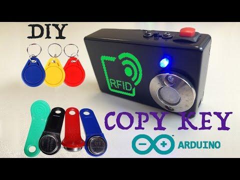 Дубликатор rfid ключей своими руками