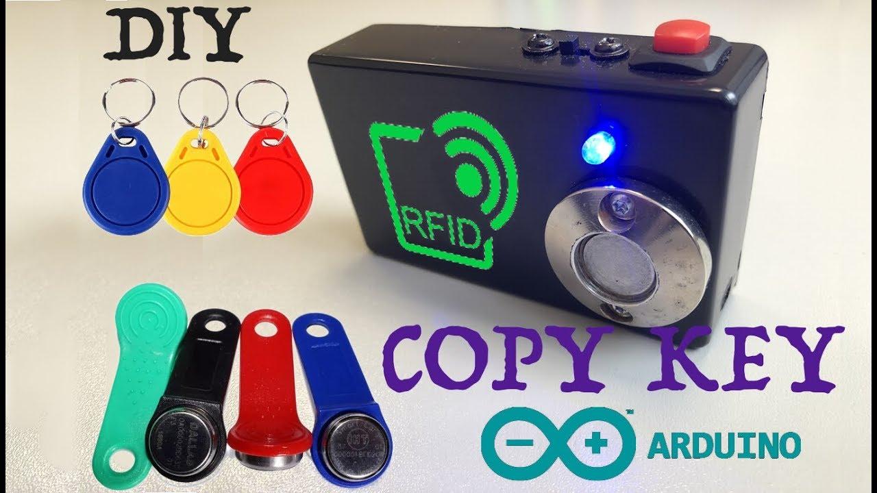 RFID 125 kHz Дубликатор ключей на Arduino своими руками. Скетч и схема.