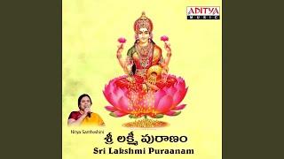Sri Lakshmi Devi Katha & Ganam