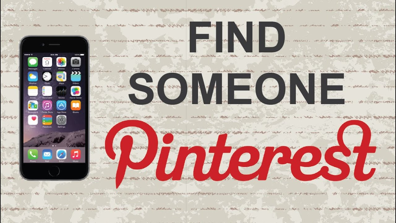 Image result for how do i find someone on pinterest