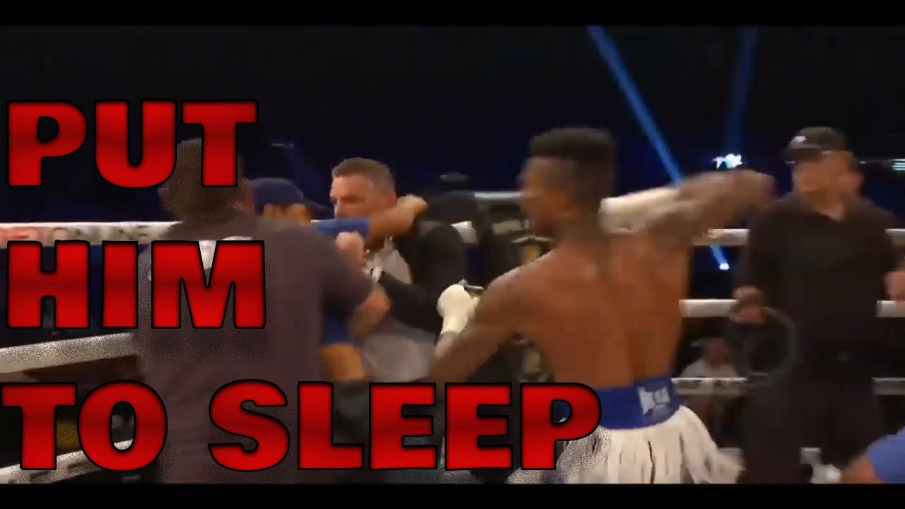 Blueface Punches Person Who Jumped Into Ring Following Boxing ...