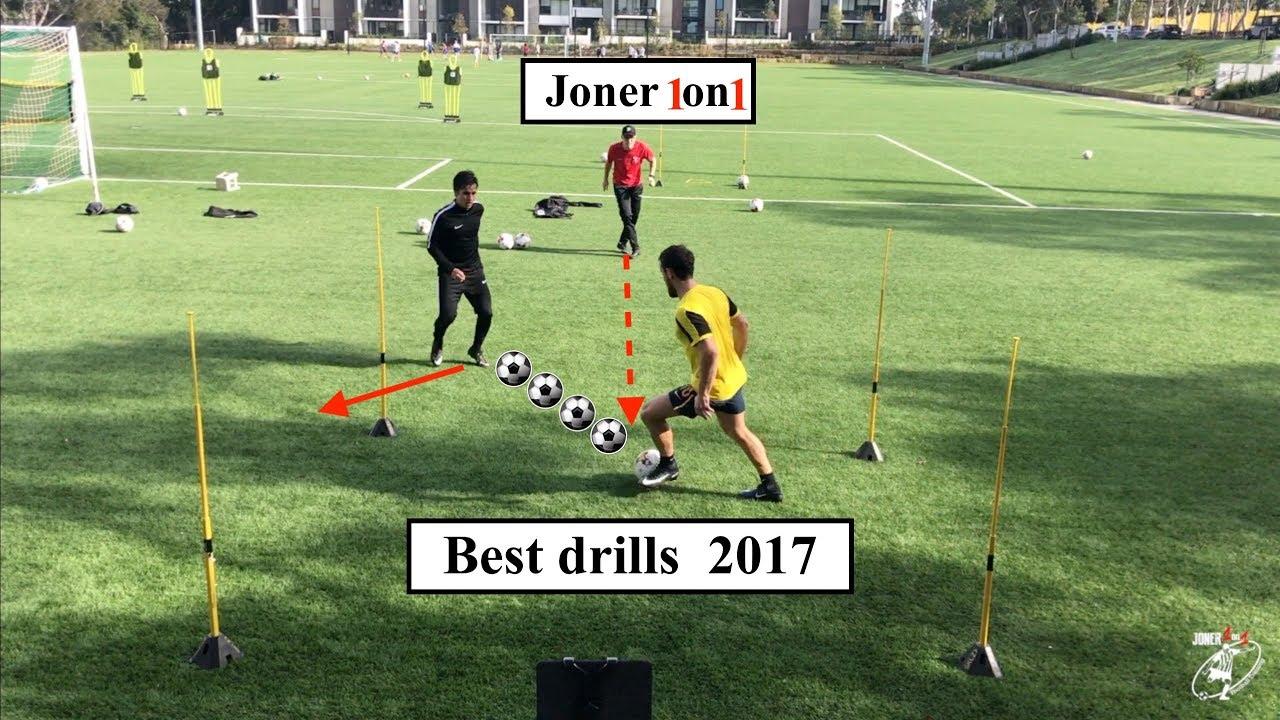 Best Soccer Drills of 2017 | Joner 1on1 Football Training