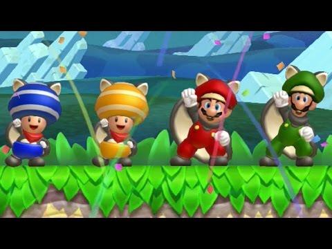 New Super Mario Bros U - Coin Battle (All Courses)
