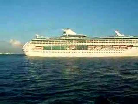 Cruise Ship In Tampa Florida  YouTube