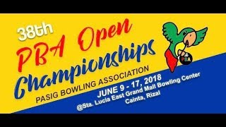 Pasig Bowling Association (PBA) Open Masters Top 5 MATCH PLAY