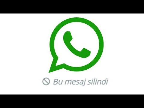 """WhatsApp """"Herkesten"""" Silinen Mesajları Geri Getirme"""