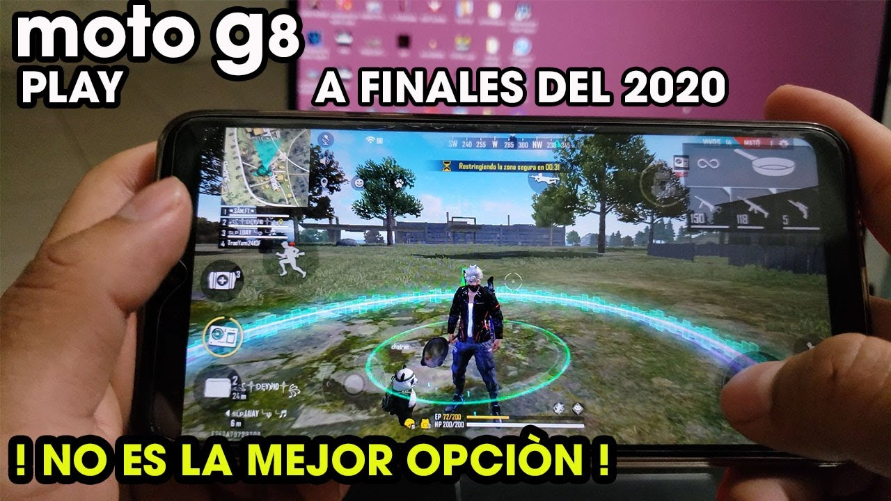 Moto G8 Play   Free Fire Ultra sombras y fps