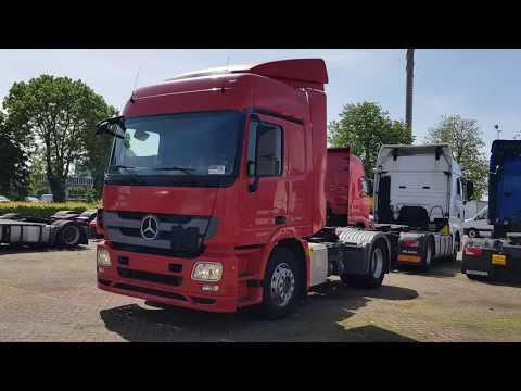 SOLD | Mercedes Benz Actros 1844 Mega 2013