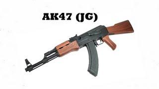 recensione ak47 golden bow jg softair ita