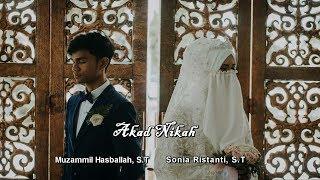 Akad dan Resepsi Pernikahan Muzammil Hasballah & Sonia Ristanti