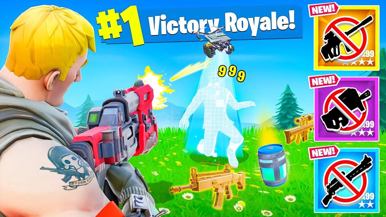The Season 1 *ONLY* Loot Challenge! - Fortnite thumbnail