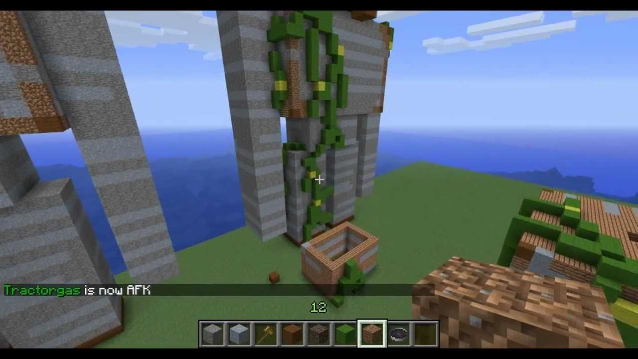 How do you make an Iron Golem in Minecraft?