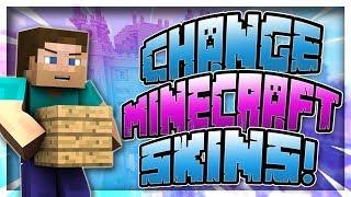 Download lagu How To Change Your Minecraft Skin Minecraft 1 14 MP3