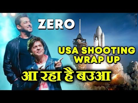 Shahrukh Khan WRAPS UP Shooting For ZERO In United States