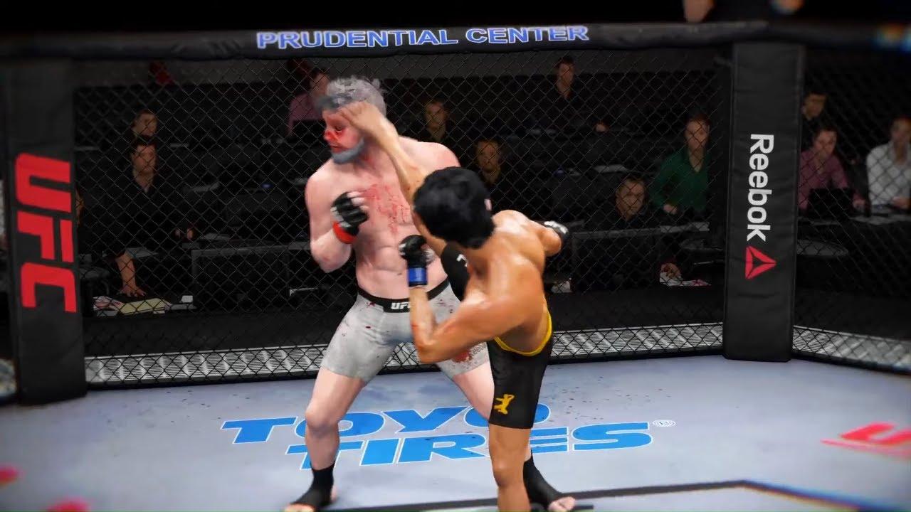 Young Zeus vs. Bruce Lee - EA sports UFC 3