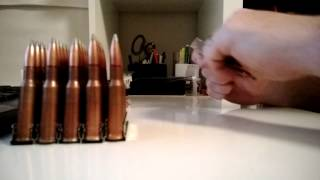 Loading Steel Mosin Nagant Stripper Clips
