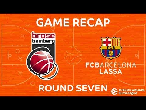 Highlights: Brose Bamberg - FC Barcelona Lassa