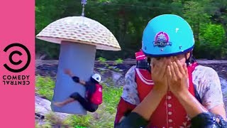 Takeshi's Castle | The Flying Mushroom Claims More Victims