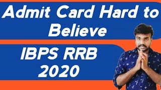 About IBPS RRB PO and Clerk Admit Card 2020 || Important Assesment || Is it Real or Fake ?
