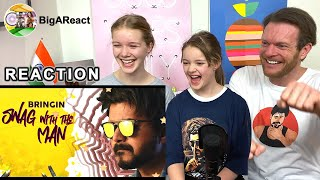MASTER THE BLASTER  Lyrical Song REACTION | #Master | Thalapathy Vijay | #BigAReact