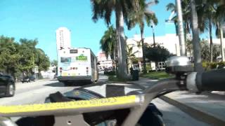 A Bicycle Tour Of Miami Beach Mid-Beach Florida Part 3