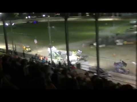 Patriot Sprint Tour Dash at Little Valley Speedway - Chris Durand