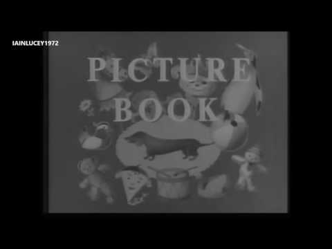 BBC TV 1950s 1960s  CHILDRENS PROGRAMMES  PICTURE BOOK INTRO TITLES HD 1080P