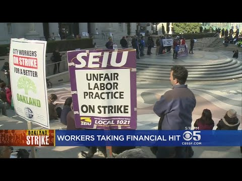 Strike Negotiations With Oakland City Workers Stretch Into Evening