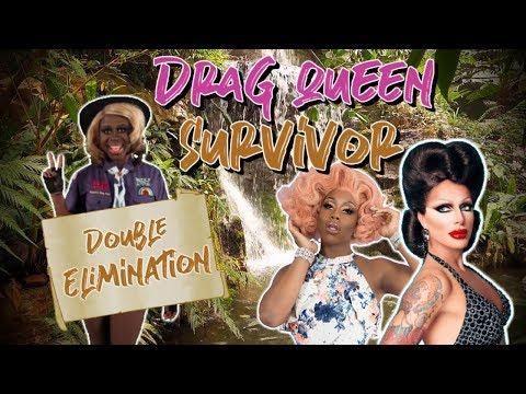 DOUBLE ELIMINATION - Drag Queen Survivor #8 | The Sims 4 thumbnail
