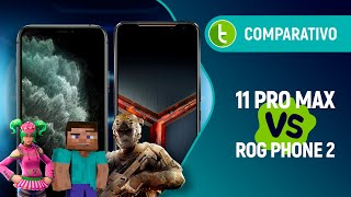 IPHONE 11 PRO MAX vs ROG PHONE 2: WAR between the BEST of BOTH WORLDS | Comparison