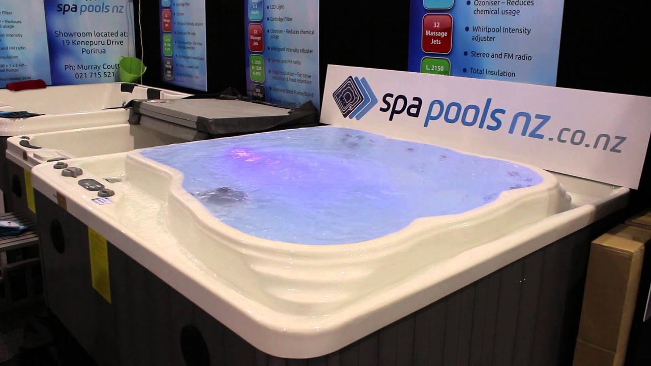 Jacuzzi Pool Youtube Spa Pools Nz Moat Spa Pool Youtube