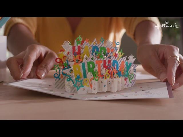 Send birthday wishes that pop