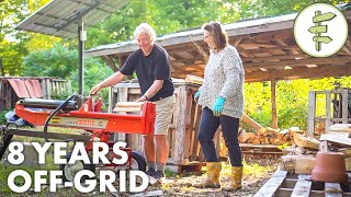 Retired Couple Living Off-Grid Shares Their 8-Year Experience