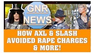 guns n roses news how axl slash avoided rape charges izzy stradlin story more