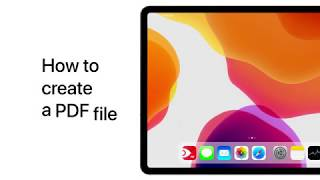 How to Make a PDF File on iPhone or iPad