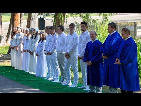Водне Хрещення. Неділя, 4 серпня 2019. Перша Українська Баптистська Церква м.Сієтл