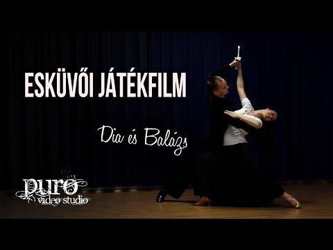 Esküvői Játékfilm - Dia és Balázs