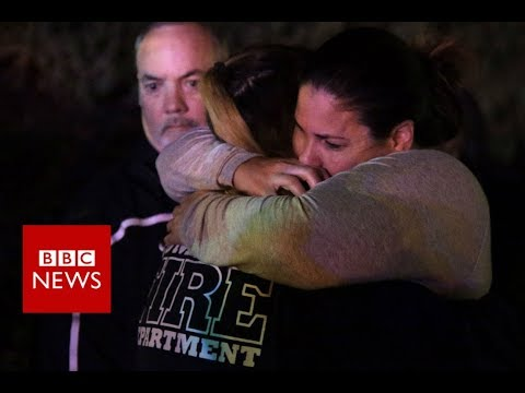 Several injured in California bar shooting - BBC News